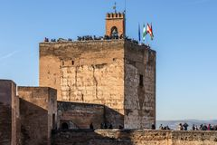 Widok Granada, Andalusia, Hiszpania fotografia royalty free