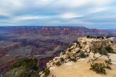 Widok Grand Canyon, od Moran punktu na PoÅ'udniowym obrÄ™czu zdjęcia stock