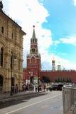 Widok Gumowy budynek i Spassky wierza Zdjęcia Stock