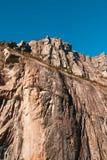 Widok halny szczyt Obrazy Royalty Free