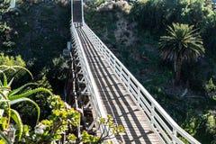 Widok Historycznej pigwy Uliczny Zwyczajny Footbridge Obraz Royalty Free