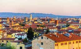 Widok historyczny centrum Pisa obraz stock