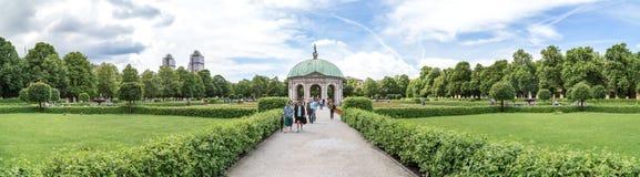 Widok Hofgarten, Monachium Obrazy Stock