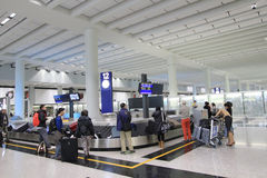 Widok Hong Kong lotnisko międzynarodowe Fotografia Royalty Free