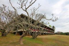 Widok hotel na wyspie Fiji obraz royalty free