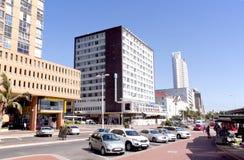 Widok hotele i budynki mieszkalni Wzdłuż Nabrzeżnego Obrazy Stock