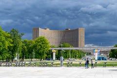 Widok hotelowy kosmos Fotografia Stock
