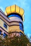 Widok Hundertwasser dom w Darmstadt, Niemcy Obrazy Royalty Free