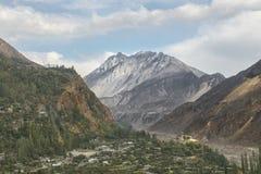 Widok Hunza dolina, Pakistan Zdjęcie Stock