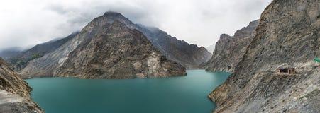 Widok Hunza rzeka, Pakistan Fotografia Royalty Free