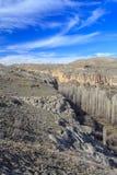 Widok Ihlara dolina indyk Zdjęcie Stock