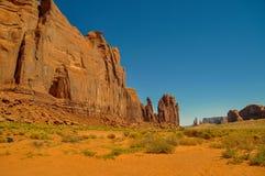 Widok ikonowa Pomnikowa dolina w Arizona Fotografia Royalty Free