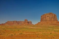 Widok ikonowa Pomnikowa dolina w Arizona Zdjęcie Stock
