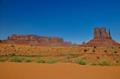 Widok ikonowa Pomnikowa dolina w Arizona Zdjęcie Royalty Free