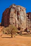 Widok ikonowa Pomnikowa dolina w Arizona Zdjęcia Stock