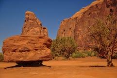 Widok ikonowa Pomnikowa dolina w Arizona Obrazy Stock