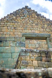 Widok inka ruiny Ingapirca Obrazy Royalty Free