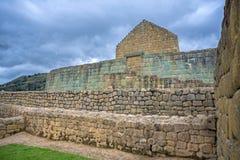 Widok inka ruiny Ingapirca Obraz Royalty Free