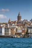 Widok Istanbuł Beyoglu teren, Turcja obraz royalty free