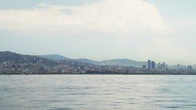 Widok Istanbuł Bosphorus i krajobraz zbiory wideo
