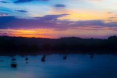 Widok Itacare wioska w Bahia zdjęcia stock