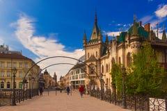 Widok Jakabov pałac zdjęcia stock