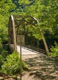 Widok Jenkinsburg most nad nabranie rzeką obrazy stock