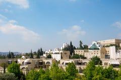 Widok Jerozolimski miasto Fotografia Stock