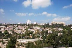 Widok Jerozolimski miasto Zdjęcia Stock