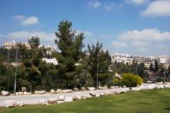 Widok Jerozolimski miasto Zdjęcie Stock
