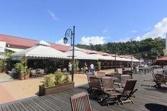 Widok Jesselton punkt, Kot Kinabalu, Sabah, Malezja Zdjęcia Royalty Free