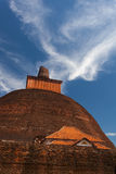 Widok Jetavan stary Dagoba w Anuradhapura, Sri Lanka Obraz Stock