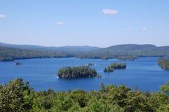 widok jeziora Zdjęcia Stock