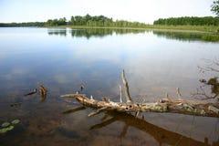 widok jeziora Fotografia Royalty Free