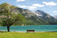 widok jeziora obrazy stock