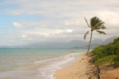 Oahu plaża Zdjęcia Stock