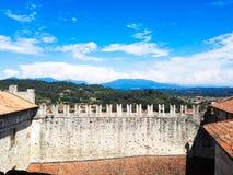 Widok Jeziorny Maggiore Fotografia Royalty Free