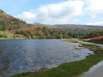 Widok jezioro Zdjęcia Stock