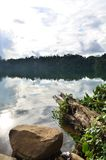 Widok jezioro Zdjęcie Stock