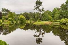 Widok jezioro brać od głównej drogi blisko północnego wschodu schronienia Mo Obraz Stock