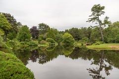 Widok jezioro brać od głównej drogi blisko północnego wschodu schronienia Mo Obrazy Royalty Free