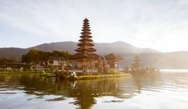 Widok jezioro przy Bali Indonesia Zdjęcie Royalty Free