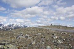 Widok jotunheimen norwegu park narodowy Obraz Stock