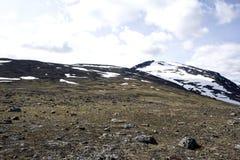 Widok jotunheimen norwegu park narodowy Zdjęcie Royalty Free