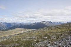 Widok jotunheimen norwegu park narodowy Zdjęcia Stock
