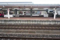 Widok Kakunodate stacja Akita, Japonia Fotografia Royalty Free
