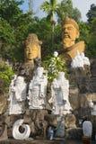 Widok kamień rzeźbi przy stopą Marmurowe góry Da Nang, Wietnam Zdjęcie Royalty Free