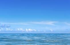 Widok karaibski ocean w Kuba, Seria Kuba 2016 reportażu - Fotografia Stock