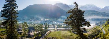 Widok Kaszmir dolina, krajobrazowa panorama Obrazy Stock