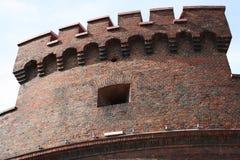 Widok kasztel w Kaliningrad Fotografia Stock